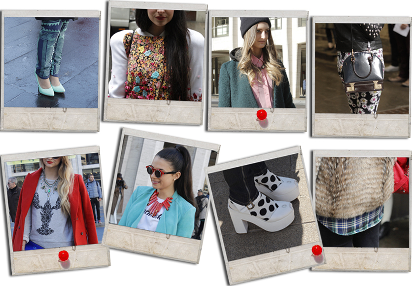 street style at DVF