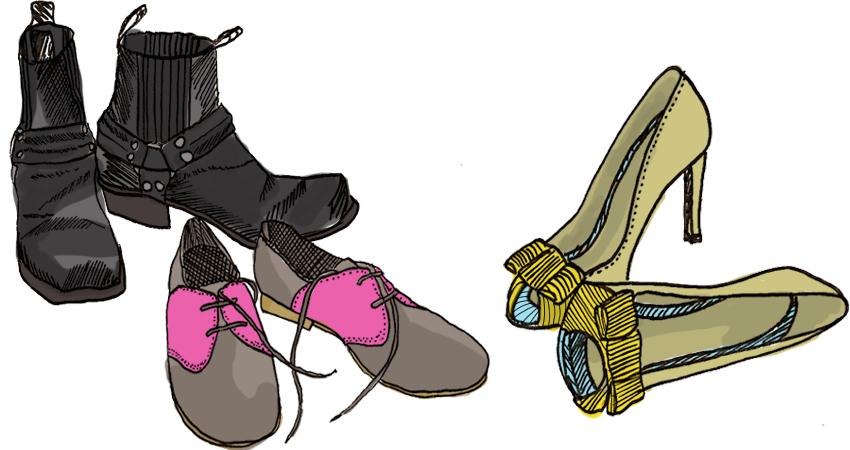 dessins-chaussures