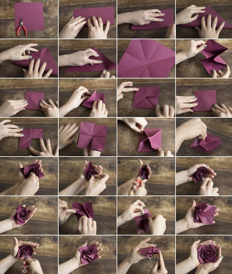 fleurs-origami-rose-petit-diy